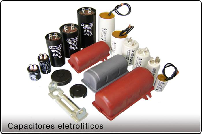 Capacitores-eletrolíticos